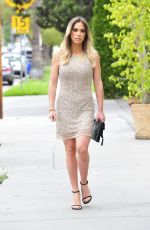 Teddi Mellencamp Tries on a few looks for an upcoming press tour for her Real Housewives of Beverly Hills show