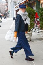 Tilda Swinton Out in NYC