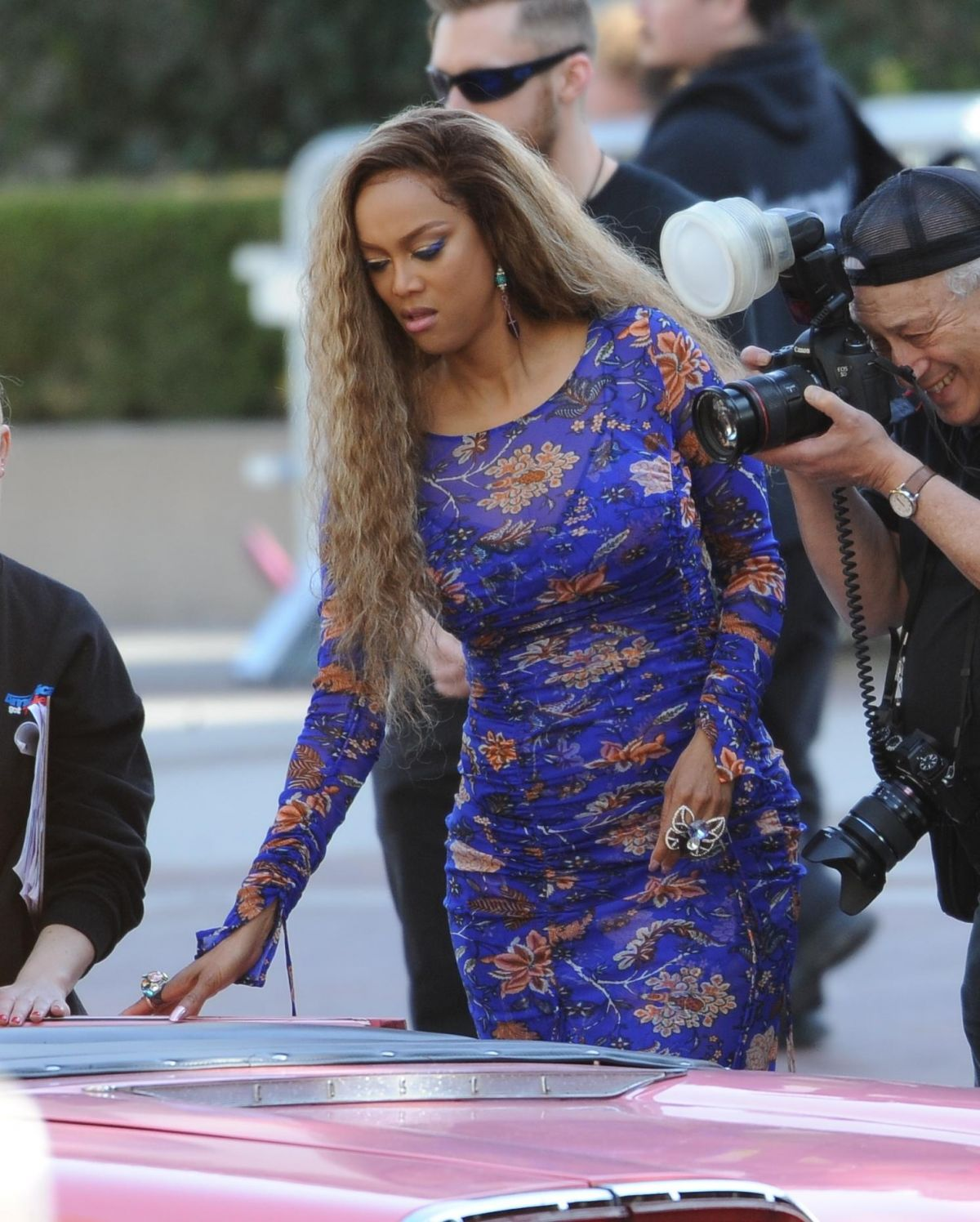 Tyra Banks Got Talent: Tyra Banks At 'America's Got Talent' Auditions In Pasadena