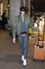 Winnie Harlow Seen at the airport in Toronto, Canada