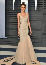 8afadadb1520 Zendaya Coleman. Zendeya At 2018 Vanity Fair Oscar Party in Beverly Hills