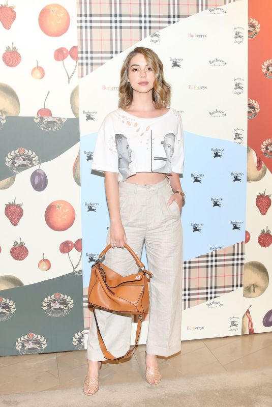 Adelaide Kane At Burberry x Elle celebrate personal style with Julien Boudet in Los Angeles