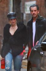 Alexa Ray Joel Heads out for dinner in New York City