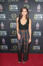Alexandra Chando At 18th Annual International Beverly Hills Film Festival Opening Night Gala