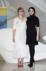 Amanda Abbington, Hannah Arterton Pose at the Photocall of the TV series