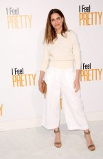 Amanda Peet At World Premiere of I Feel Pretty at Westwood Village Theater