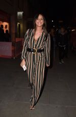Amber Dowding Attends the Stefflon Don Boohoo launch Party in London