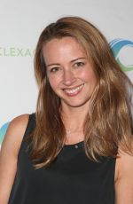 Amy Acker At Day 2 of ClexaCon in Las Vegas, Nevada