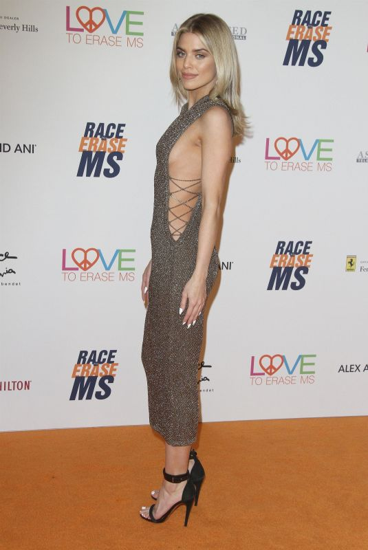 AnnaLynne McCord At The 25th Annual Race To Erase MS Gala held at The Beverly Hilton Hotel in Beverly Hills