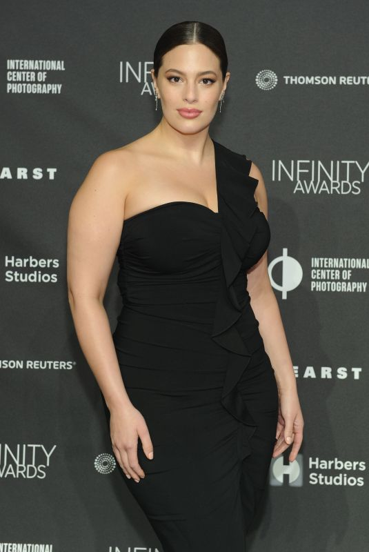 Ashley Graham At International Center Of Photography
