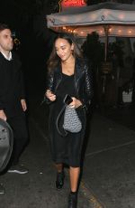 Ashley Madekwe Leaving Chateau Marmont in LA