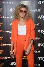 Becca Dudley At Cineworld Leicester Square - relaunch party, London