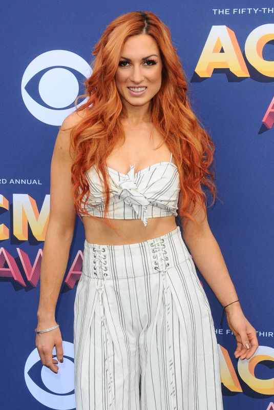 Becky Lynch At The 53rd Academy of Country Music Awards in Las Vegas