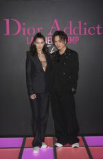 Bella Hadid Attends the Dior Addict Lacquer Plump Party at 1 OAK in Tokyo, Japan