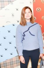 Bonnie Wright At Burberry x Elle celebrate personal style with Julien Boudet, Los Angeles