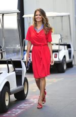 Brooke Burke-Charvet On her way to a meeting at Universal Studios - Universal City