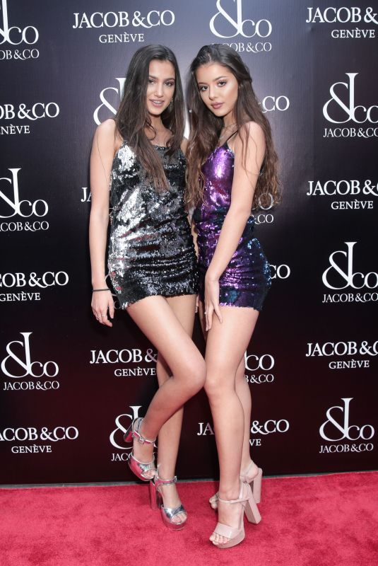 Brooke Korine, Nora Gjili At Grand Re-Opening of the Jacob & Co. Flagship Store, New York