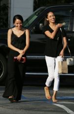Bryiana Noelle and a friend are spotted out shopping in Beverly Hills