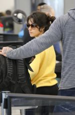 Camila Cabello Seen at the LAX airport in Los Angeles