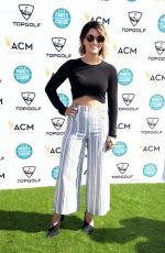Cassadee Pope Attends the ACM Lifting Lives TOPGOLF Tee-Off at Topgolf in Las Vegas