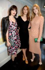 Charlotte Wiggins & Eve Delf At House of Osman VIP launch, London, UK