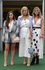 Chloe Lewis At Ladies Day - Day 2 of the 2018 Aintree Festival during the Grand National Meeting