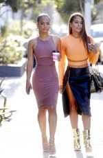 Christina Milian With Her Sister Out In West Hollywood