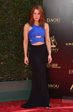 Courtney Hope At 45th Annual Daytime Creative Arts Emmy Awards, Los Angeles