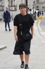 Davina McCall Is all smiles as she
