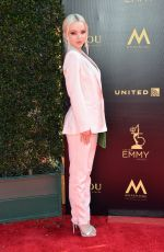 Dove Cameron At 45th Annual Daytime Creative Arts Emmy Awards in Los Angeles, California