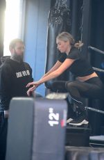Elsa Hosk At the gym in NYC