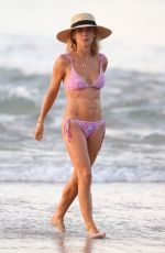 Elsa Pataky Seen on the beach in Byron Bay, Australia