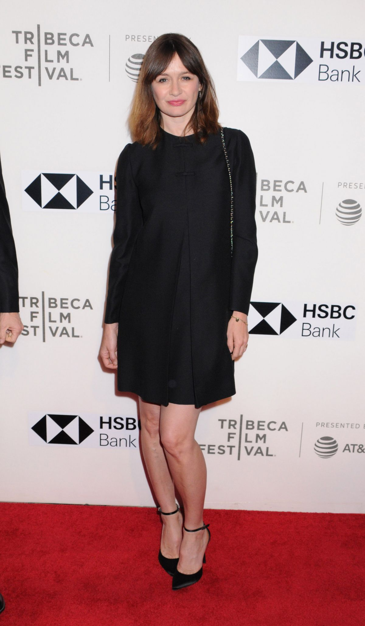 Emily Mortimer At US Premiere of 'Disobedience' At the 2018 Tribeca