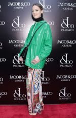Emma Waldron At Grand Re-Opening of the Jacob & Co. Flagship Store, New York