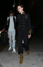 Evan Rachel Wood Leaves the Hotel Cafe with a male companion after performing a few songs on stage in Hollywood