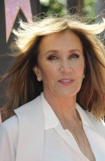 Felicity Huffman At Eva Longoria Honored With Star On The Hollywood Walk Of Fame in Los Angeles