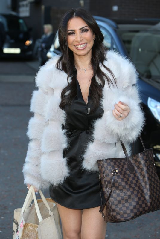Francine Lewis Outside ITV Studios in London