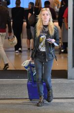 Georgia May Jagger Is seen at LAX in Los Angeles