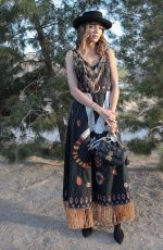 Georgie Flores At Dior Sauvage party in Pioneertown