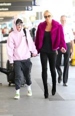 Gigi Gorgeous At LAX airport in Los Angeles