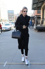 Gigi Hadid Spotted out in the Meat Packing District in New York City