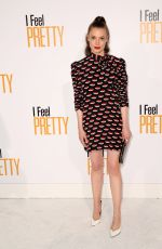 Gillian Jacobs At World Premiere of I Feel Pretty at Westwood Village Theater