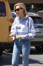 Hailey Baldwin Stops by Rite-Aid to pick up a few things in Beverly Hills