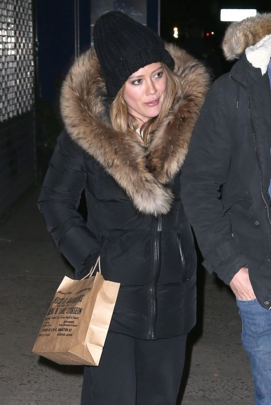 Hilary Duff At Russ & Daughters cafe in New York City