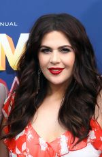 Hillary Scott At 53rd Annual Academy of Country Music Awards, Arrivals, Las Vegas