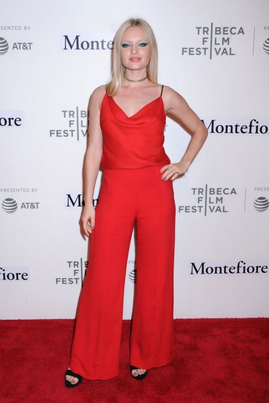 Isabella Farrell At Tribeca Talks and Summertime Premiere, Tribeca Performing Arts Center, New York