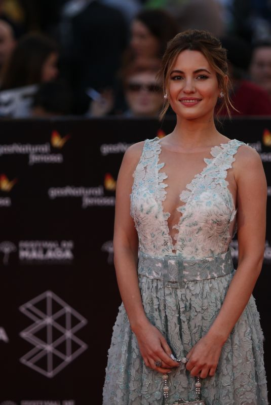 Ivana Baquero At Malaga Sur Award Ceremony