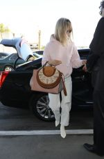 January Jones Spotted at LAX airport