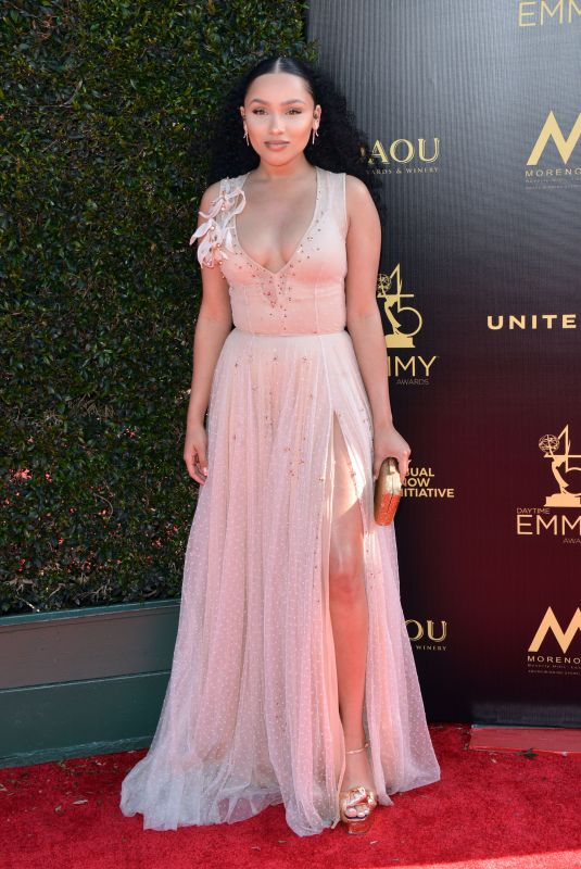 Jaylen Barron At 45th Annual Daytime Creative Arts Emmy Awards, Los Angeles