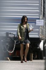 Jenna Dewan Seen back at work on the set of